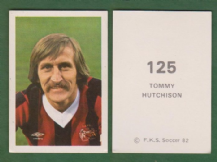 Manchester City Tommy Hutchison Scotland 125